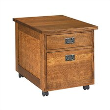 Craftsman Home Office 2-Drawer Mobile Utility File Cart