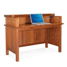 """Craftsman Home Office 50.5"""" W Lift Top Laptop / Writing Desk"""