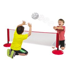 Hall Stars 2-in-1 Tennis and Volleyball Sports