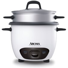 6 Cup Rice Cooker and Food Steamer