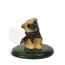 Pug Dog Figurine