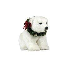 Seated Polar Bear Cub