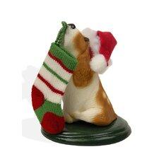 Basset Hound Dog Figurine