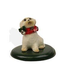 Bichon Dog Figurine