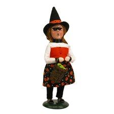 Girl Witch Figurine