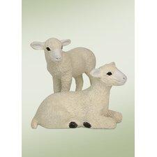 Lambs Figurine (Set of 2)