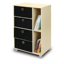 Steam Beech Living Multipurpose Storage Cabinet Bookcase Dresser