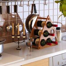 Pyramid 6 Bottle Wine Rack