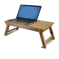 "Bamboo 11.6"" H x 23.8"" W Adjustable Notebook Laptop Desk"