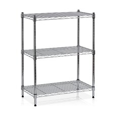 "Wayar 30.5"" H Heavy Duty Wire Three Shelve Unit"