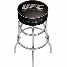 "UFC 31"" Swivel Bar Stool with Cushion"