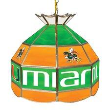 University of Miami 1 Light Pendant