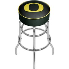 "University of Oregon 31"" Swivel Bar Stool with Cushion"