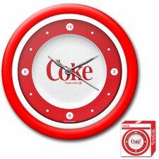 "Coca Cola 12"" 1970s Style Wall Clock"