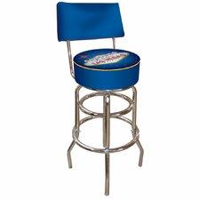 "Las Vegas 31"" Swivel Bar Stool with Cushion"