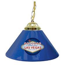 "Welcome to Las Vegas 14"" Single Shade Bar Lamp"