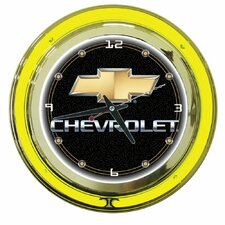 """14"""" Chevy Double Ring Wall Clock"""