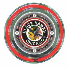 "NHL Team 14"" Wall Clock"