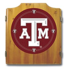NCAA Dart Cabinet in Medium Wood