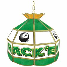 Rack'em Eight Ball Stained Glass Tiffany Lamp
