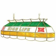 Miller High Life 3 Light Pool Table Light