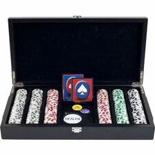 4 Aces Poker Chip in Las Vegas Sign Case