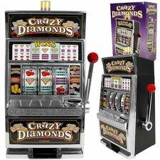 Crazy Diamonds Slot Machine Bank - Authentic Replication