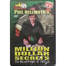 DVD - Phil Hellmuth's Million Secrets To Bluffing & Tells