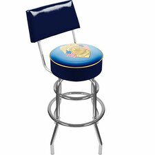 """Police Officer 31"""" Swivel Bar Stool with Cushion"""