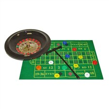 Deluxe Roulette Set With Chips