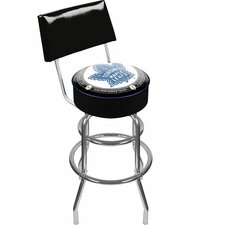 "NHL 31"" Swivel Bar Stool with Cushion"
