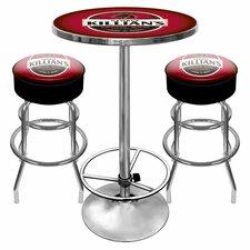 Killians Beer Game Room 3 Piece Pub Table Set