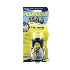 4-in-1 Free Chlorine Test Strips for Swimming Pools