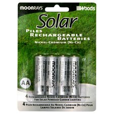 AA Rechargeable NiCd Battery (Set of 4)