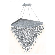 Icicle 16 Light Crystal Chandelier