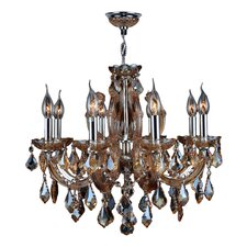 Catherine 8 Light Crystal Chandelier