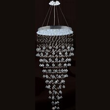 Icicle 12 Light Crystal Chandelier