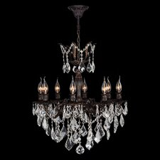Versailles 8 Light Crystal Chandelier