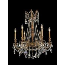 Windsor 6 Light  Crystal Chandelier