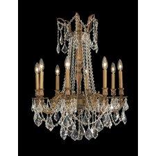 Windsor 8 Light  Crystal Chandelier