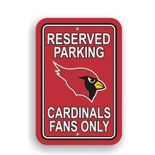 NFL Parking Sign