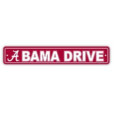 NCAA Street Sign