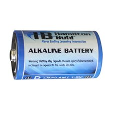 D Battery (Set of 4)