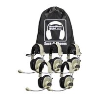 Sack-O-Phones 5 Deluxe USB Headphone with Microphone