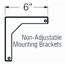 """6"""" Fixed Wall Bracket for WS Screens"""