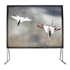 "Matte White 150"" Diagonal Fixed Frame Projection Screen"