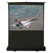 "Matte White 61"" Diagonal Portable Projection Screen"