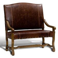 Italian Leather Settee