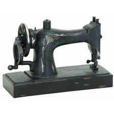 Décor Industrial Age Sewing Machine Sculpture