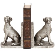 Shiny Dog Book Ends (Set of 2)